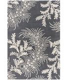 RugStudio presents Chandra Rowe ROW11107 Grey Hand-Tufted, Good Quality Area Rug
