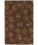 RugStudio presents Chandra Rowe ROW11110 Chocolate Hand-Tufted, Good Quality Area Rug