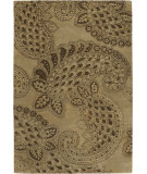 RugStudio presents Chandra Rowe ROW11111 Brown Hand-Tufted, Good Quality Area Rug
