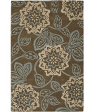 RugStudio presents Chandra Rowe ROW11112 Brown Hand-Tufted, Good Quality Area Rug
