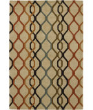RugStudio presents Chandra Rowe Row11125 Beige Hand-Tufted, Good Quality Area Rug