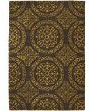 RugStudio presents Chandra Satara SAT16200 Gold Hand-Tufted, Good Quality Area Rug
