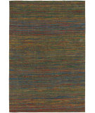 RugStudio presents Chandra Shenaz She31201 Green/Multi Flat-Woven Area Rug