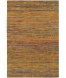 RugStudio presents Chandra Shenaz She31202 Gold/Multi Flat-Woven Area Rug