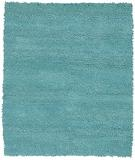 RugStudio presents Chandra Strata STR1124 cyan Woven Area Rug
