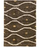 RugStudio presents Chandra Strata STR1189 brown Woven Area Rug