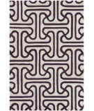 RugStudio presents Chandra Thomas Paul Textiles Ionic T-IOEC Chocolate/Cream Hand-Tufted, Good Quality Area Rug