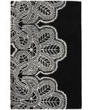 RugStudio presents Chandra Taru TAR18700 Black Hand-Tufted, Good Quality Area Rug