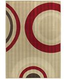 RugStudio presents Chandra Torino TOR9002 Beige/Multi Machine Woven, Good Quality Area Rug