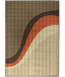 RugStudio presents Chandra Torino TOR9004 Brown/Beige Machine Woven, Good Quality Area Rug