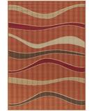 RugStudio presents Chandra Torino TOR9005 Orange Machine Woven, Good Quality Area Rug