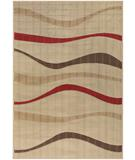 RugStudio presents Chandra Torino TOR9007 Beige Machine Woven, Good Quality Area Rug