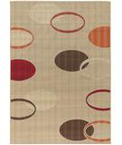 RugStudio presents Chandra Torino TOR9009 Beige/Multi Machine Woven, Good Quality Area Rug