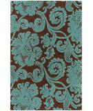 RugStudio presents Chandra Venetian VEN6002 Chocolate Hand-Tufted, Good Quality Area Rug