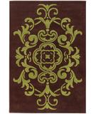 RugStudio presents Chandra Venetian VEN6003 Chocolate Hand-Tufted, Good Quality Area Rug