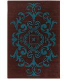 RugStudio presents Chandra Venetian VEN6004 Chocolate Hand-Tufted, Good Quality Area Rug