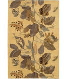 RugStudio presents Chandra Verona VER601 Ivory/Green Hand-Tufted, Good Quality Area Rug