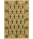 RugStudio presents Chandra Verona VER603 Ivory/Green Hand-Tufted, Good Quality Area Rug