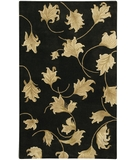 RugStudio presents Chandra Verona VER607 Black Hand-Tufted, Good Quality Area Rug