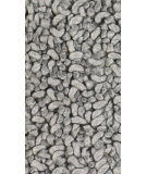 RugStudio presents Chandra Zeal Zea20602 Silver Grey Woven Area Rug