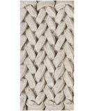 RugStudio presents Chandra Zensar ZEN10000 Antique White Woven Area Rug