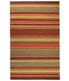 RugStudio presents Classic Home Cut Pile Stripe 2875 Sunset 300-2533 Area Rug