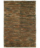 RugStudio presents Classic Home Pebble Brown-Multi 300-3062 Area Rug