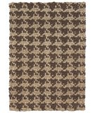 RugStudio presents Classic Home Houndstooth . Brown 300-3811 Sisal/Seagrass/Jute Area Rug
