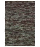 RugStudio presents Classic Home Soumak Stripe Turquoise Mine 300-3864 Sisal/Seagrass/Jute Area Rug