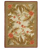 RugStudio presents Classic Home Hand-Stenciled Mandalay 300-6950 Sisal/Seagrass/Jute Area Rug