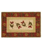 RugStudio presents Classic Home Hand-Stenciled Safari 300-6971 Sisal/Seagrass/Jute Area Rug