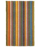 RugStudio presents Classic Home Bermuda Stripe Primary 300-7412 Sisal/Seagrass/Jute Area Rug