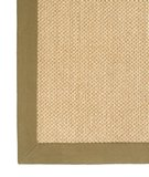 RugStudio presents Classic Home Pampas Cotton Border Olive 300-7728 Sisal/Seagrass/Jute Area Rug