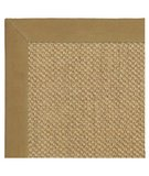 RugStudio presents Classic Home Pampas Cotton Border Mocha 300-7731 Sisal/Seagrass/Jute Area Rug