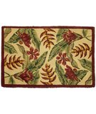 RugStudio presents Classic Home Hand-Stenciled Tropicana 300-7929 Sisal/Seagrass/Jute Area Rug