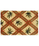 RugStudio presents Classic Home Hand-Stenciled Umbria 300-7996 Sisal/Seagrass/Jute Area Rug