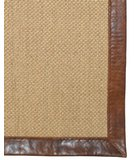 RugStudio presents Classic Home Pampas Leather Border Cocoa 300-7811 Area Rug