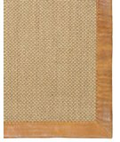 RugStudio presents Classic Home Pampas Leather Border Latte 300-7812 Area Rug