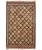 RugStudio presents Classic Home Sara Kilim W-13 400-1113 Flat-Woven Area Rug