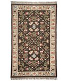 RugStudio presents Classic Home Europa Kilim AE 4834 Brown 400-1423 Flat-Woven Area Rug