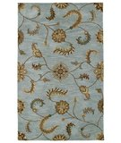 RugStudio presents Classic Home Coventry 2585 Turquoise 400-3522 Hand-Tufted, Good Quality Area Rug