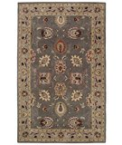 RugStudio presents Classic Home Coventry 2586 Grey-Beige 400-3523 Hand-Tufted, Good Quality Area Rug