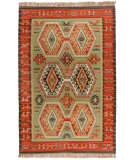 RugStudio presents Classic Home Sara Kilim Marrakesh 300-2503 Flat-Woven Area Rug
