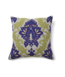 RugStudio presents Classic Home Villa Full Bloom V150377 Amalfi Emb Blue / Green