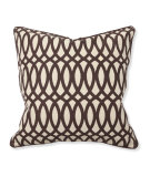 RugStudio presents Classic Home Villa Second Nature V150650 Geo Print Brown