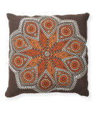 RugStudio presents Classic Home Villa Global Bazaar V250206 Chocolate / Orange