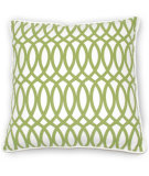 RugStudio presents Classic Home Villa Green Fields V250275 Geo Green Cotton