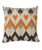 RugStudio presents Classic Home Villa Global Bazaar V250480 Diamond Echo Orange