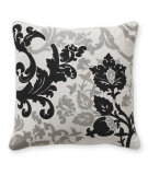 RugStudio presents Classic Home Villa Baroque & Roll V250893 Black / Grey
