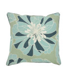 RugStudio presents Classic Home Villa Seafarer V450330 Enfleurs Green/Blue